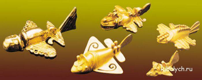 Стародавні літаки індіанців Толіма