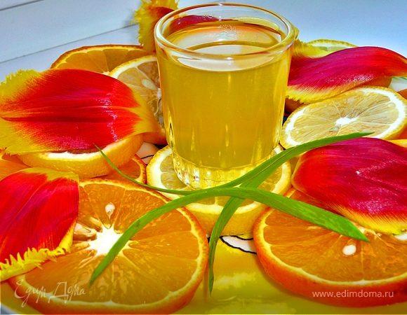 Апельсиновий лікер по-домашньому