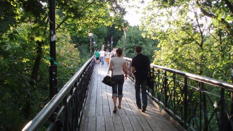 Міст закоханих в Києві
