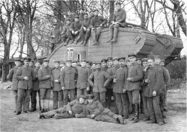 Дерев'яні танки Німеччини