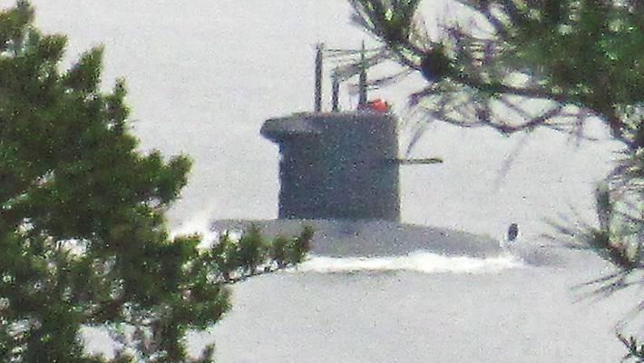 Підводний човен у Швеції