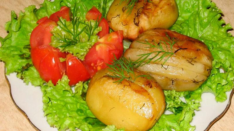 Картопля-гармошка