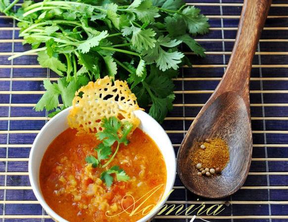 Індійський томатний суп