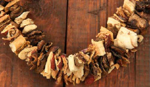 Як сушити гриби (грибні гірлянди)