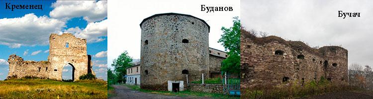 Кудринецький замок в селі Кудринці