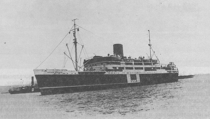 Гибель лайнера «Й.Сталін»