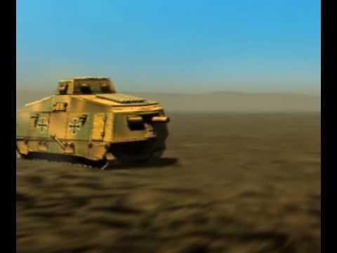Перший німецький танк A7V