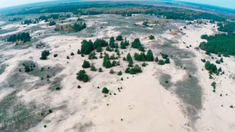 Кицівська пустеля (горбисті піски)
