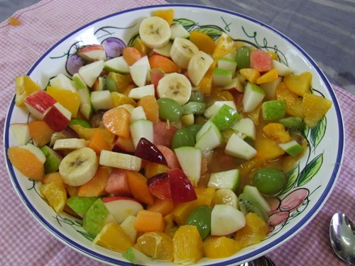 Заморожений салат з фруктів