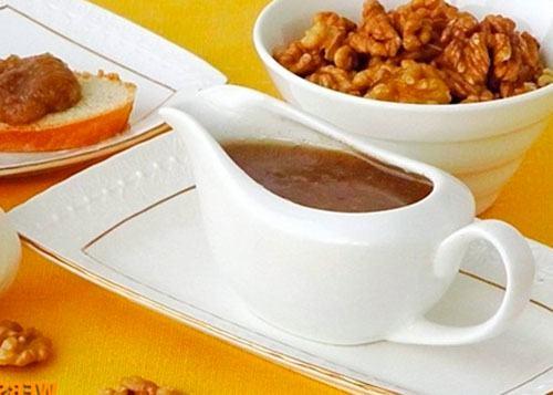 Горіховий соус з часником по-тулузськи