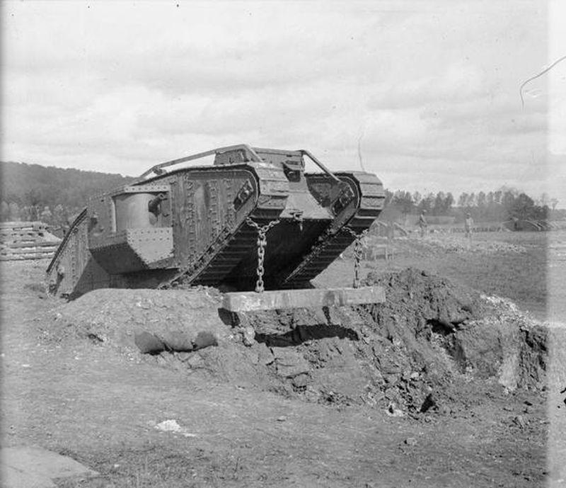 Перший танковий бій
