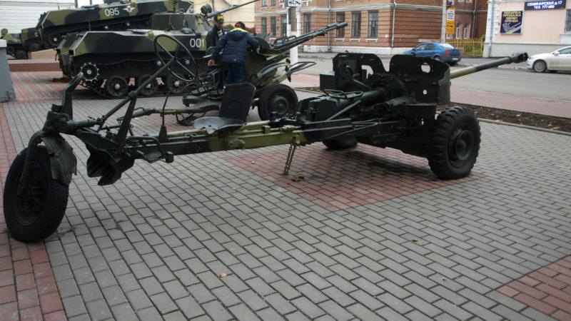Гармата СД 57 з мотодвигуном