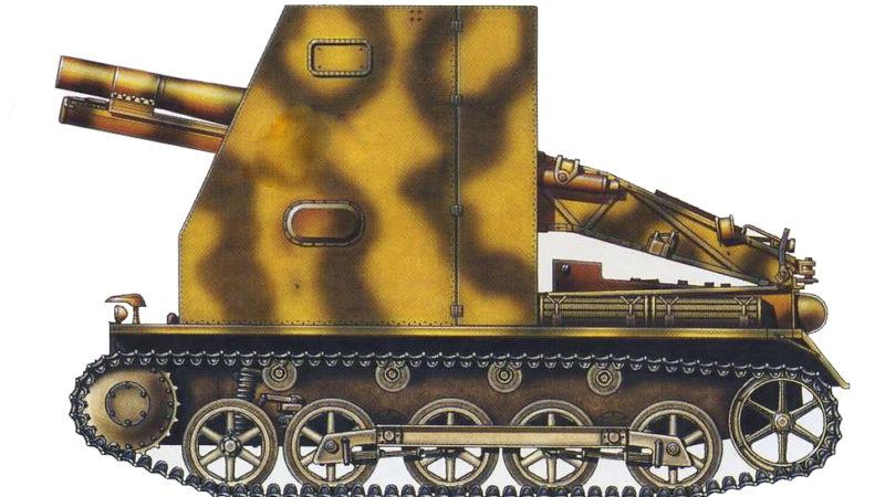 САУ Sturmpanzer I