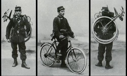 Велосипеди на війні