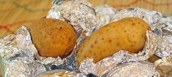 Американський печена картопля – рецепт