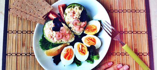 Авокадо з креветками – рецепт