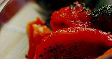 Печена солодкий перець – рецепт