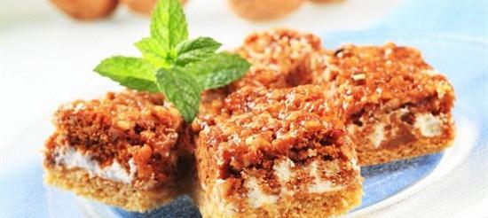 Бісквітний горіховий торт – рецепт