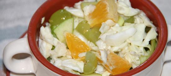Каліфорнійський капустяний салат – рецепт