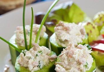Огірки з рибою по-датському – рецепт