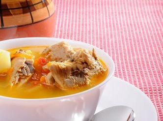 Суп морквяний з макреллю – рецепт
