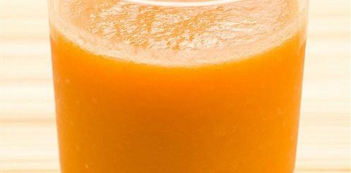 Морквяний сік з вершками – рецепт