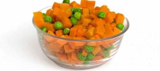 Морква з горошком – рецепт