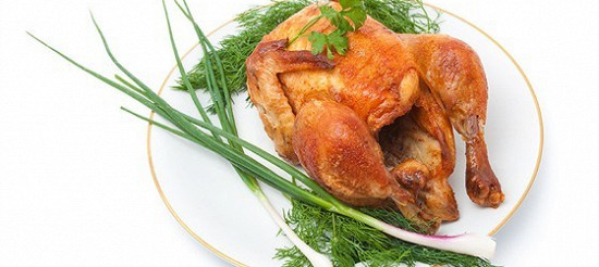 Курка, запечена в сметані – рецепт