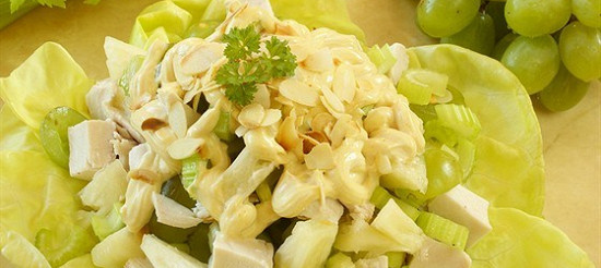 Салат з курячого філе з селерою – рецепт