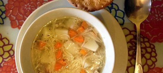Курячий суп по-домашньому – рецепт