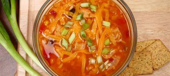 Курячий суп з помідорами – рецепт