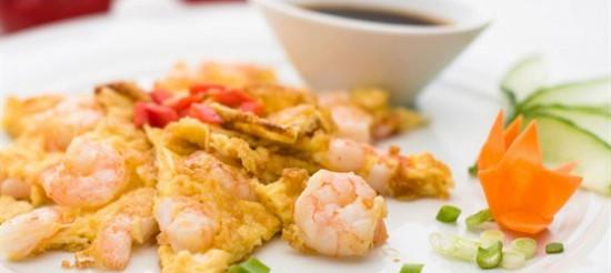 Китайський омлет – рецепт