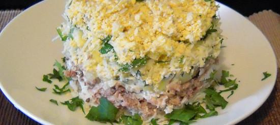 Класичний салат «Мімоза» – рецепт