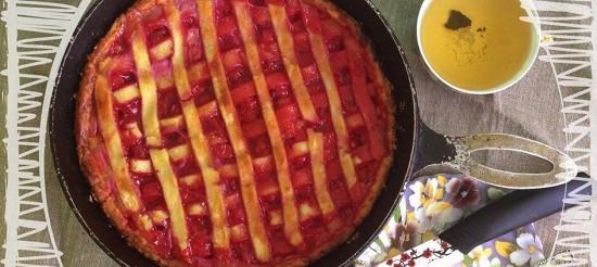 Закритий вишневий пиріг – рецепт