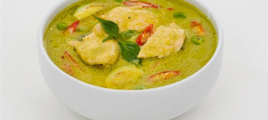 Суп-крем з курки з зеленим горошком – рецепт