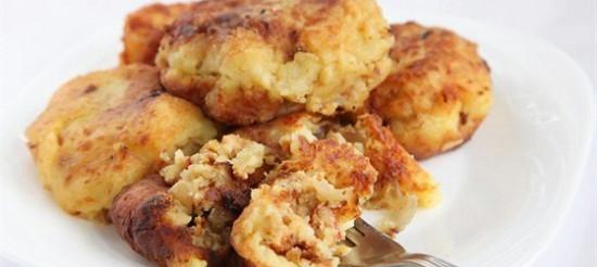 Котлети з картоплі і висівок – рецепт