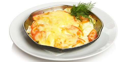 Фріттата з помідорами, шалот і чебрецем – рецепт