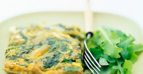Зелена фріттата – рецепт