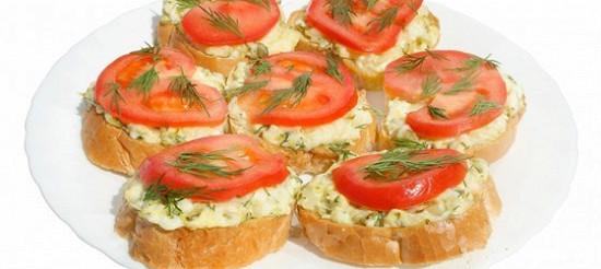 Гарячі бутерброди – рецепт