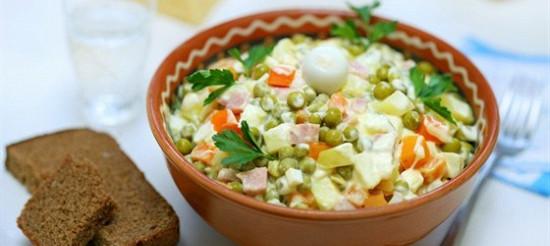 Салат м'ясний – рецепт