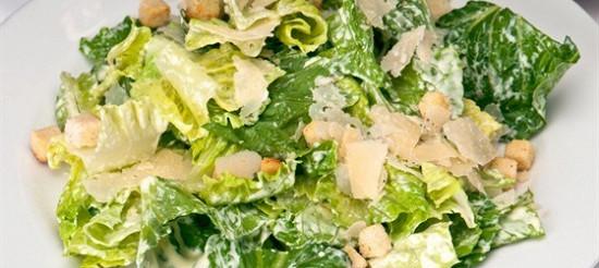 М'ясний салат з сухариками – рецепт