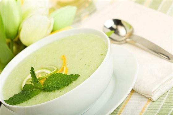 М'ятний фруктовий суп – рецепт