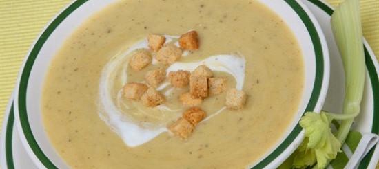 Грибний суп з мадерою – рецепт