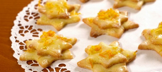 Апельсинові печива – рецепт