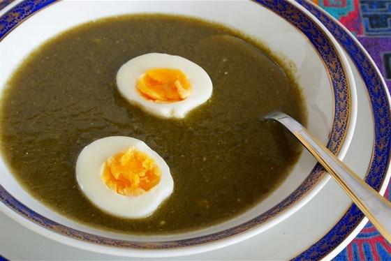 Суп-пюре щавлевий – рецепт