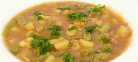 Щавлевий суп з білою квасолею – рецепт