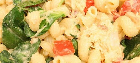 Салат з пасти з тунцем – рецепт