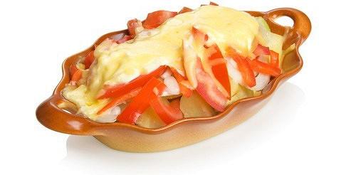Картопля з перцем – рецепт