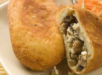 Картопляні пиріжки з грибами – рецепт