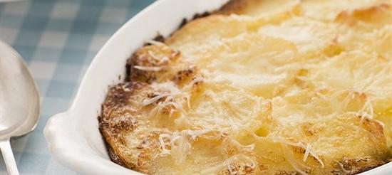 Картопляна запіканка з сиром – рецепт